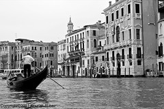 Venice .. Black & white (Nourah Al baz) Tags: venice italy white black photography romantic gondola nourah albaz