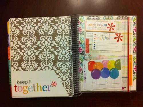 Erin Condren Life Planner 2011-12