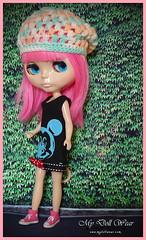 Blythe Hat - Sweet Like Candy Crochet Hat