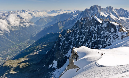 From Chamonix to Courmayer - Aiguille du Midi 28