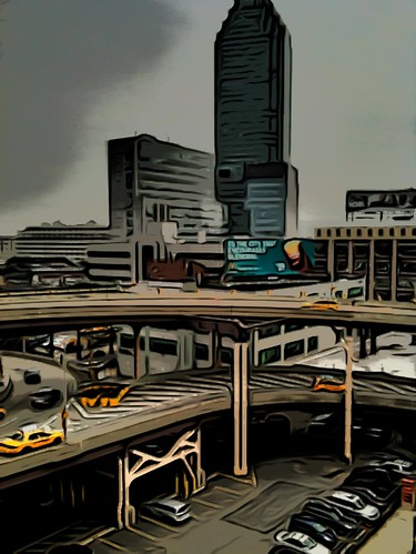 Long Island City , NY- iPad Art by David Scott Leibowitz