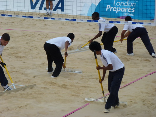 London Prepares: Beach Volleyball