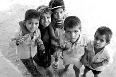 small world (handheld-films) Tags: street portrait people india rural village faces candid indian photojournalism documentary portraiture emotive rajasthan villagers chidlren villagelife ruralindia
