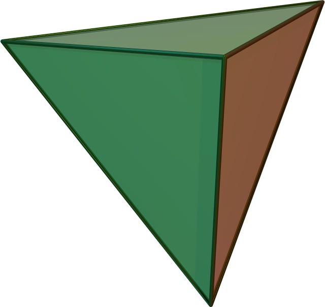 ¿Cuántos poliedros regulares hay?