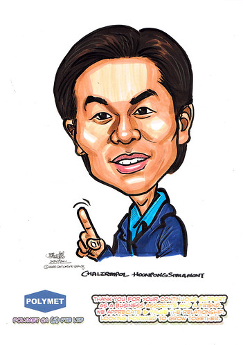 Caricatures for Polymet - 22