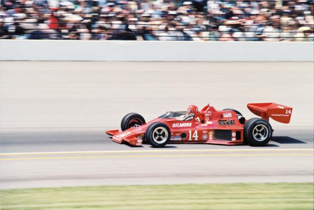 1979 Foyt finished second in the Indianapolis 500 driving this Parnelli chassis.