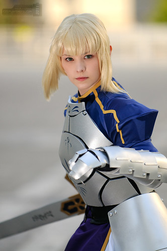 FateStay Night Saber Cosplay_1