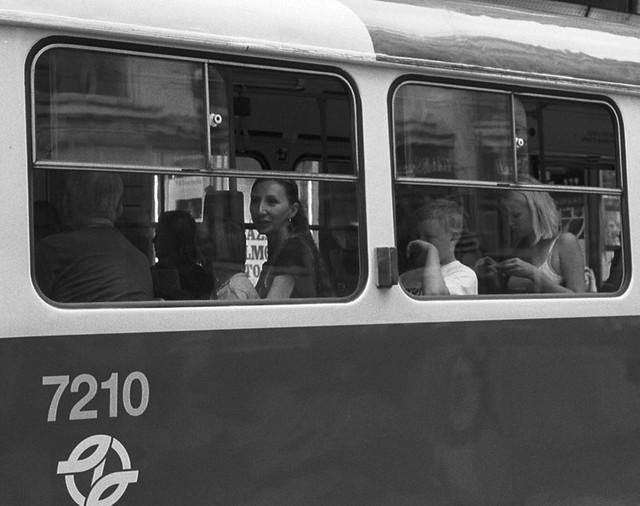 Prague. Tram