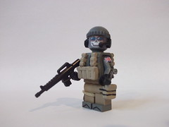 Ghost, Redone and Finished! (Arabrick) Tags: photo call lego awesome duty ghost