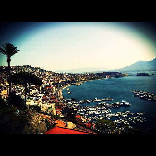 Breathtaking view #napoli #sea #view