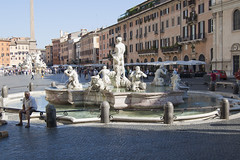 """Fontana del Moro, piazza Navona • <a style=""""font-size:0.8em;"""" href=""""http://www.flickr.com/photos/89679026@N00/6204272070/"""" target=""""_blank"""">View on Flickr</a>"""