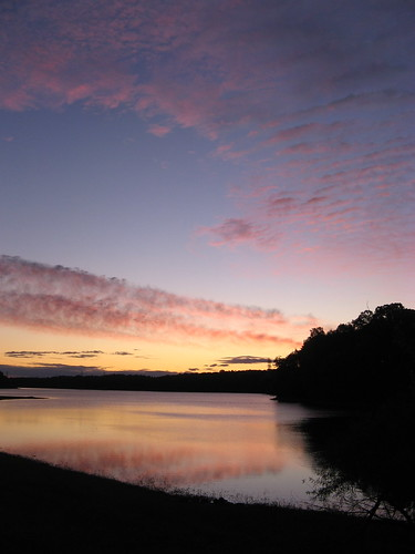 Lake Townsend, Greensboro, NC, dawn