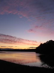 Lake Townsend, Greensboro, NC, dawn Photo