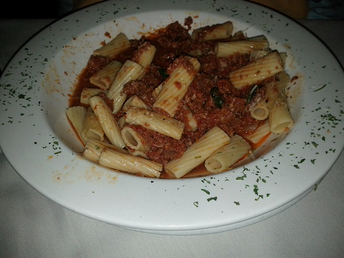 Rigatoni Bolognese