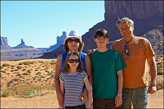 (K. Sawyer Photography) Tags: family boy portrait woman man west girl hat sunglasses utah kid cowboy butte child desert teen teenager monumentvalley landforms coloradoplateau navajotribalpark monumentvalleynavajotribalpark navajonation monumentvalleyutah sanjuancountyutah navajocountyarizona apachecountyarizona