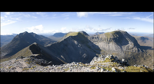 Beinn Eighe Panorama I by chimpaction