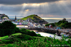 Ilfracombe (James Neeley) Tags: uk sunset england landscape devon ilfracombe photomatix pseudohdr jamesneeley