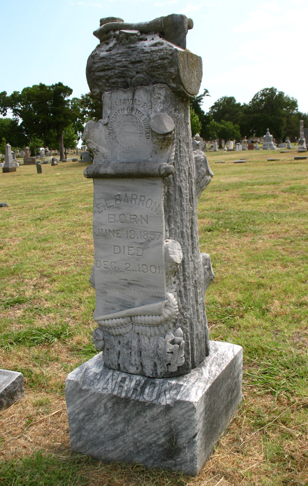 sherman wow headstone