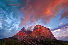 Sassolungo (Dolomiti) | Explore (Enrico Boggia | Photography) Tags: italy mountains nature montagne italia natura berge dolomiti enrico kuki valgardena boggia sassolungo spallone puntagrohmann 5dita enricokuki
