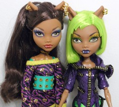 SO v. DotD Clawdeen (~Ravie) Tags: mattel schoolsout dawnofthedance monsterhigh clawdeenwolf