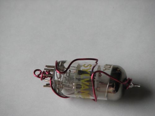 Steampunk Vacuum Tube Charm 008