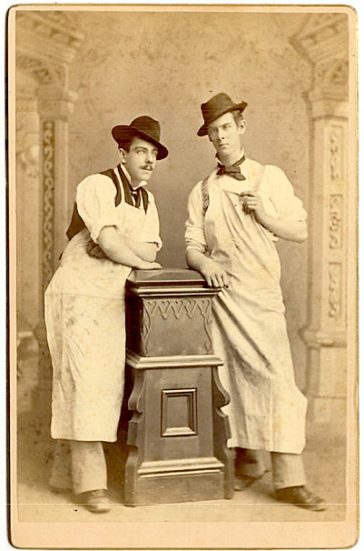 Antique Middletown Men in Aprons