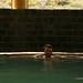 Banho nas águas termais de Chivay