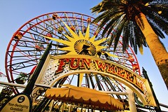 Fun in the Sun (andy castro) Tags: pier wideangle disney palmtree mickeymouse ferriswheel 1020mm dca sunwheel disneycaliforniaadventure paradisepier sigma1020mm disneylandresort funwheel mickeysfunwheel
