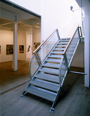 View of Stair - Photograph by Allan Forbes