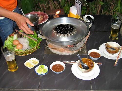 Dinner, Laos