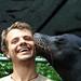 E a foto mais polemica: o beijo da Leoa Marinha