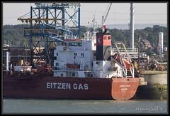 Sigas Linda (leightonian) Tags: uk boat ship unitedkingdom hampshire solent gb tanker fawley southamptonwater