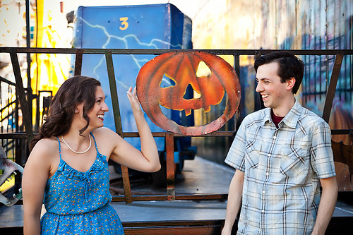 Lauren & Ian's Carnival Engagement