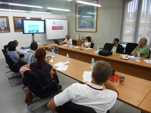Curso Internacional sobre riesgos laborales UPCT
