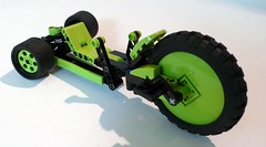 The Green Machine! (Lino M) Tags: black green lego machine retro nostalgia 70s trike 1978 lime lino greenmachine lugnuts marxtoys everythingunderthesunbuildchallenge