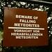 Cuidado, meteoros!