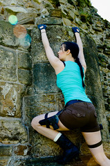 LaurenCroft-12 (Kirsty Brown Memento Studios) Tags: game lauren st female video model ruins nadia andrews williams cathedral cosplay action dundee tomb adventure lara croft characters iconic kirsty legg raider ramage