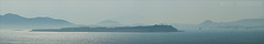 Argo-Saronic Blues no.2 (M.Rathmann) Tags: panorama port athens greece stitched piraeus 2011 18200mm pireas peiraias mediterraneancruise argosaronicislands