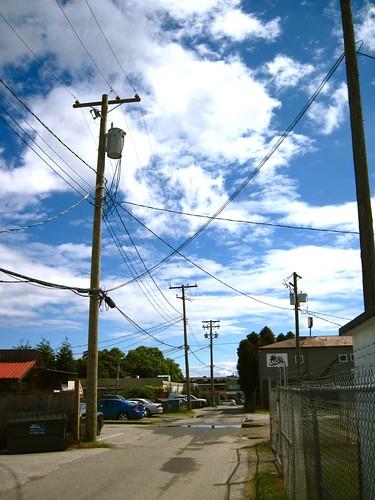 Back Road, Sechelt BC