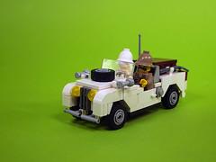 safary car (de-marco) Tags: lego jeep rover land safary