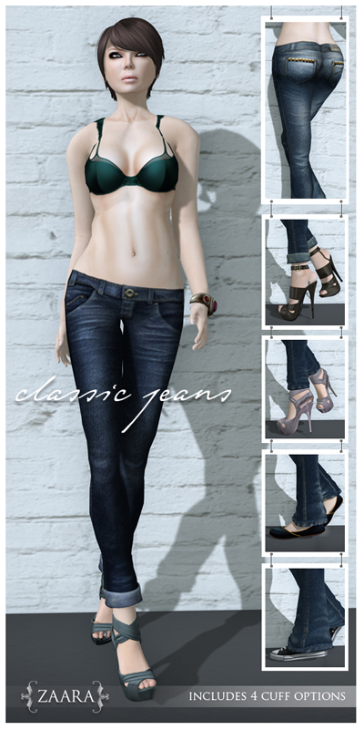 {Zaara} Classic Jeans