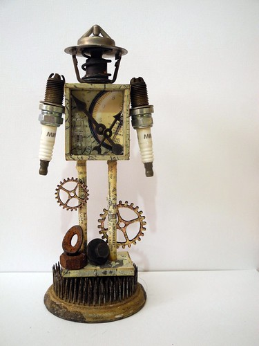 Be Present - A Steampunk Art Doll
