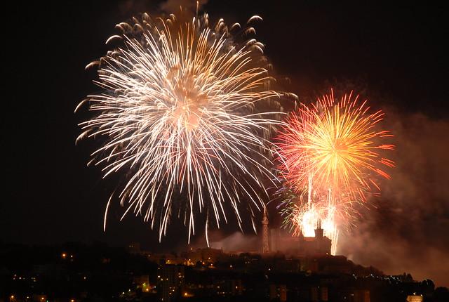 Feu d'artifice Lyon 14 juillet 2011 27/28