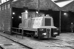 25/02/1961 - SEGB East Greenwich Gas Works, London. (53A Models) Tags: southeasterngasboard segb 3 drewrycar baguley dcbg27231961 040dm industrial diesel shunter eastgreenwichgasworks london train railway locomotive railroad