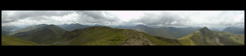 South Glen Shiel Ridge Panorama