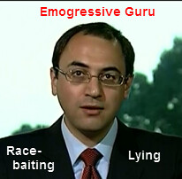 race baiting, lying Adam Green