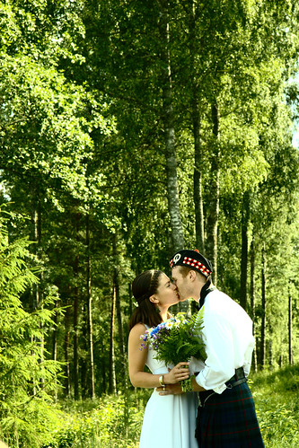 To decorate the wedding venue with a forest theme focus on a specific theme