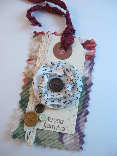Tag {Machine Sewn}