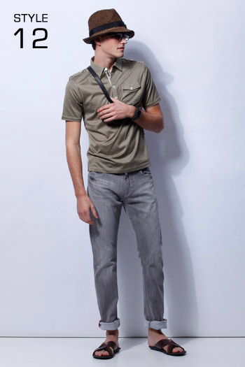Robert Rae0134_23区 HOMME 2011 Spring & Summer Collection