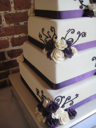 purple and ivory wedding cake wedding bands with diamonds minnesota